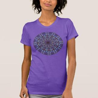 Marokkanisches romantisches farbiges Mandalamuster T-Shirt