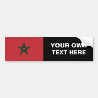 Marokko Autoaufkleber