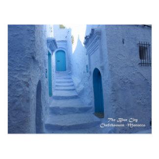 Marokko, Chefchaouen, die blaue Stadt Postkarte