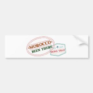 Marokko dort getan dem autoaufkleber