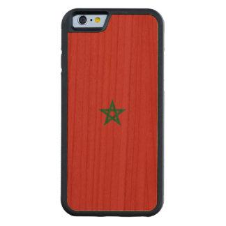 Marokko-Flagge Bumper iPhone 6 Hülle Kirsche