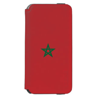 Marokko-Flagge Incipio Watson™ iPhone 6 Geldbörsen Hülle
