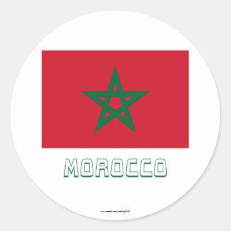 marokko aufkleber. Black Bedroom Furniture Sets. Home Design Ideas