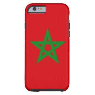 Marokko-Flagge Tough iPhone 6 Hülle