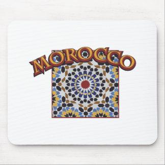 Marokko-Fliese Mousepad