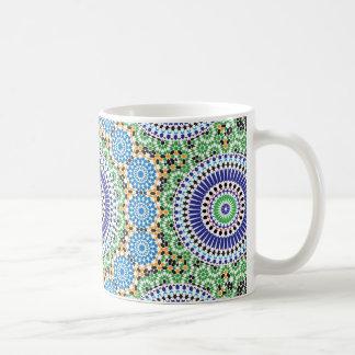 Marokko-Muster-Tasse Tasse