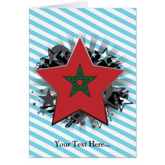 Marokko-Stern Karte