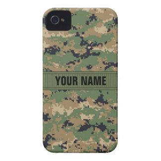 MarPat Digital WaldCamouflage #2 personalisiert iPhone 4 Case-Mate Hülle