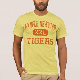 Marple Newtown - Tiger - hoch - Newtown-Quadrat T-Shirt