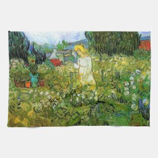 Marquerite Gachet im Garten, Vincent van Gogh. Geschirrtuch