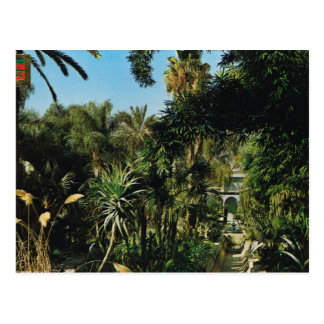 Marrakesch, Majorelle Gärten, Marokko Postkarte
