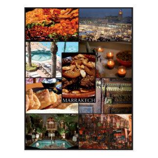 Marrakesch - Marokko - Postkarte