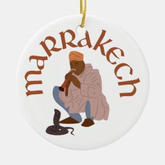 Marrakesch-Schlangenbeschwörer Keramik Ornament