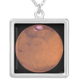 Mars 5 versilberte kette