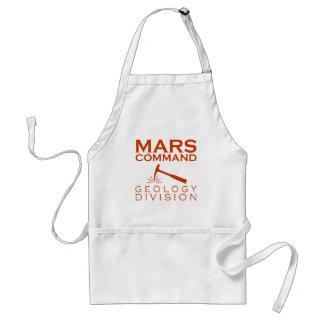 Mars-Befehls-Geologie-Abteilung Schürze