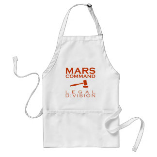 Mars-Befehls-Rechtsabteilung Schürze