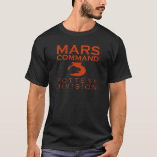 Mars-Befehls-Tonwaren-Abteilung T-Shirt