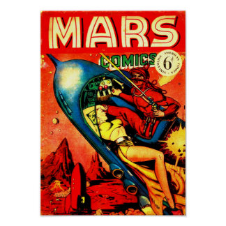 Mars-Comicen Poster