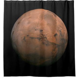 Mars-Duschvorhang Duschvorhang