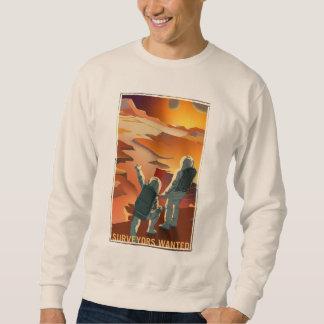 Mars-Einstellung - Feldmesser gewollt Sweatshirt