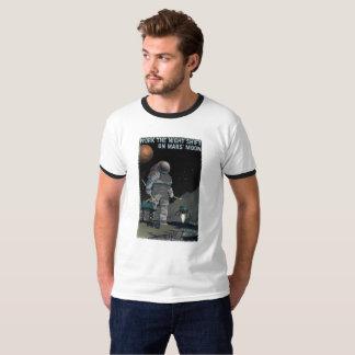 Mars-Einstellung - Nachtschicht-T - Shirt