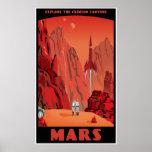 Mars: große Version Plakatdrucke