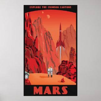 Mars - großes Format Poster