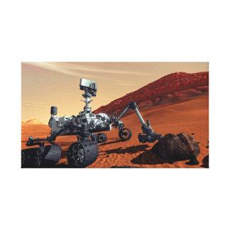 Mars-Neugier-Vagabund Leinwanddruck