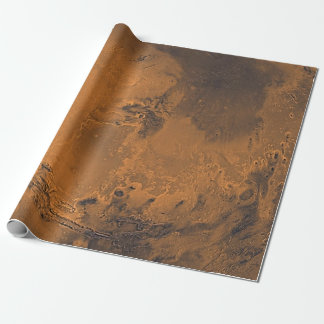 Mars-Oberflächenplaneten-Foto Geschenkpapier