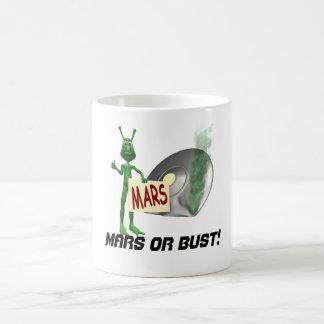 Mars oder Fehlschlag! Kaffeetasse
