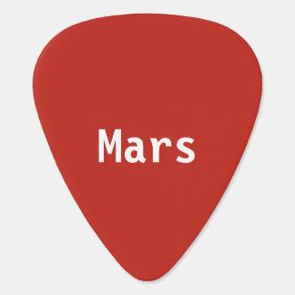 Mars-Plektrum Plektrum