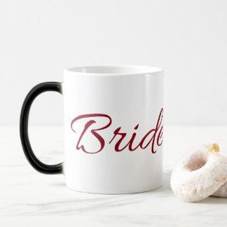 Marsala Burgunder Braut-Gang Verwandlungstasse