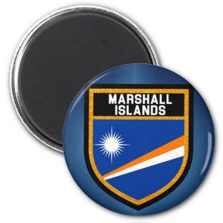 Marschall-Insel-Flagge Runder Magnet 5,7 Cm
