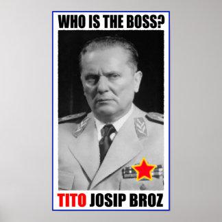 MARSCHALL-JOSIP BROZ TITO-CHEF POSTER