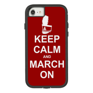 Marschierendes Band behalten Ruhe und März an Case-Mate Tough Extreme iPhone 8/7 Hülle