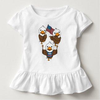 Marschierendes Eagles Kleinkind T-shirt