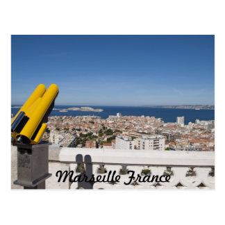 Marseille Frankreich Postkarte