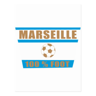Marseille Fußball Postkarte