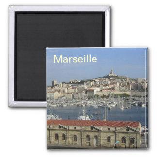 Marseille-Magnet Quadratischer Magnet