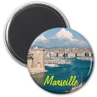 Marseille-Magnet Runder Magnet 5,1 Cm