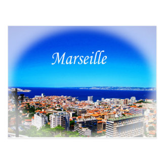 Marseille Postkarte