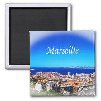 Marseille Quadratischer Magnet