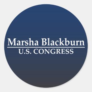 Marsha Blackburn US Kongreß Runder Aufkleber