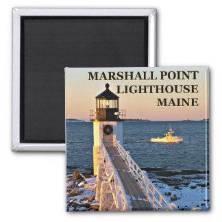 Marshall-Punkt-Leuchtturm, Magnet Hafen-Clydes