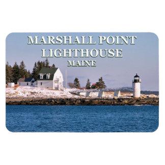 Marshall-Punkt-Leuchtturm, Magnet Maines Flexi