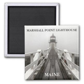 Marshall-Punkt-Licht, Hafen Clyde Maine Quadratischer Magnet