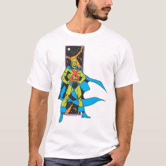 MarsManhunter u. Raum-Hintergrund T-Shirt