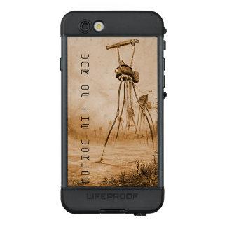 Marsmenschen mit Gas-Gewehr-Krieg der Welten LifeProof NÜÜD iPhone 6s Hülle
