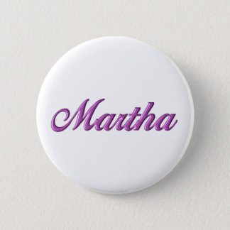 Martha-Knopfname billig Runder Button 5,7 Cm