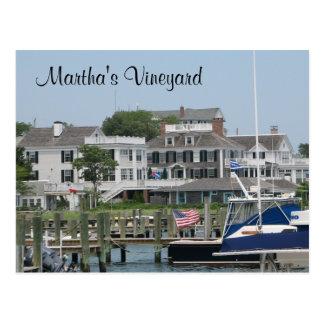Martha's Vineyard Cape Cod, Edgartown MA Postkarte